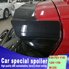 цены F20 F21 116i 120i 118i M135i 2012 to up Universal spoiler for BMW F20 F21 116i 120i 118i M135i high quality DIY paint spoiler