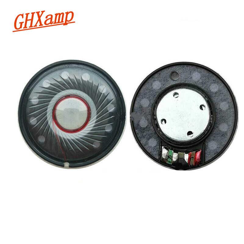 GHXAMP 40 мм беспроводные наушники Динамик драйвер неодимовые 112db HIFI гарнитура Рог полнодиапазонные динамики 2 шт