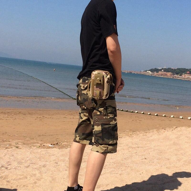 Prix pour De pêche Sac Sac de Taille Étanche Sac de Taille Militaire Taille Fanny Pack Mobile Téléphone Cas pour Nylon Livraison gratuite