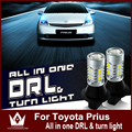 Night Lord For Prius 2008-2014  LED DRL Daytime Running Lights DRL&Front Turn Signals all in one
