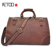 Popular Vintage Leather Suitcase-Buy Cheap Vintage Leather ...