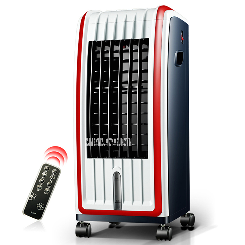 NFS-20 Cooling Heating Air Cooler 3 Gear Home Air Condition Fan Timing Air Conditioner Digital Remote Control Water-Cooled Fan
