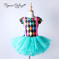 Leotard Professional Ballet Tutu Swan Lake Ballet Tutu Dress Girls Ballerina Children Dance Clothing Balet Child Costume B 6356