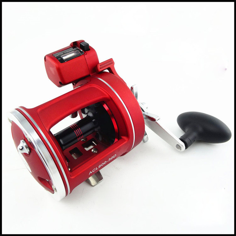 Super Strong Left-Right Handle Cast Drum Wheel Lure Fishing Reel 12 Bearing Fishing Gear Rod Reels