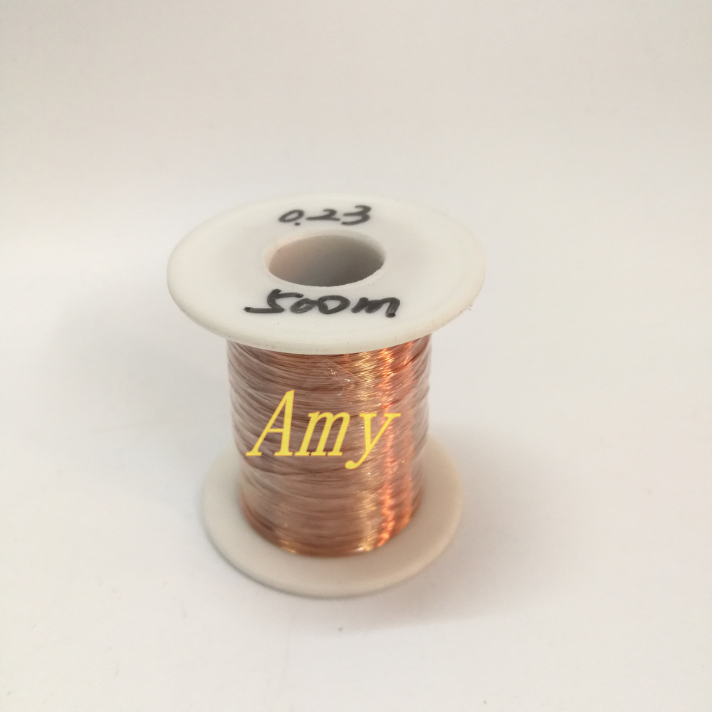 500 Meters/lot Polyurethane Enameled Wire QA-1-155 Copper Wire 0.23mm