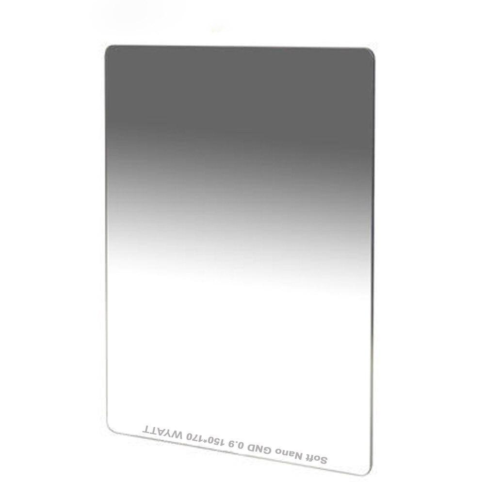 WYATT 150x170mm MC Multi-coated Soft Hard Reverse Graduated Neutral Density GC-GRAY GND1.2 0.9 0.6 ND16 8 4 Optical Glass Filter светофильтр marumi gc gray 58mm