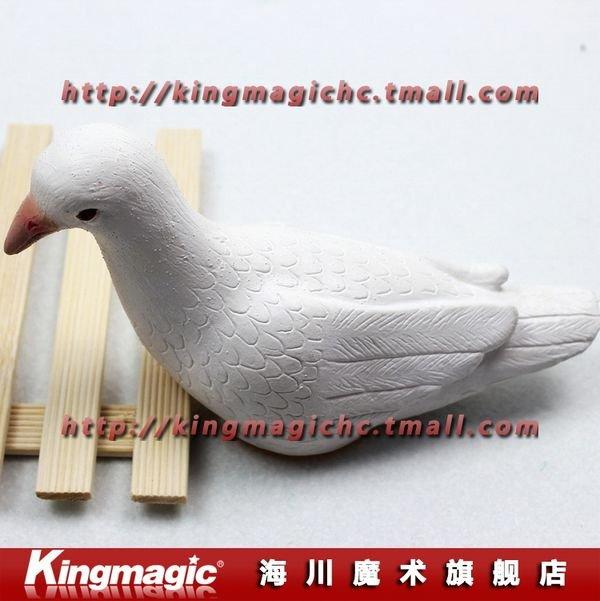 Kingmagic жизнь, как голубь латекс голубь искусственный латекс Dove этап магия реквизит