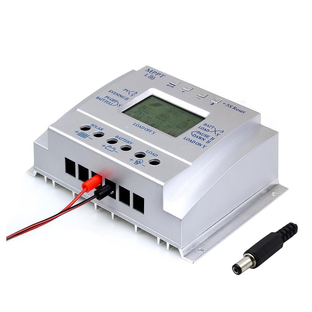 1pcs LCD 80A MPPT Solar Panel Battery Charge Discharge Controller Regulator b101xt01 1 m101nwn8 lcd displays