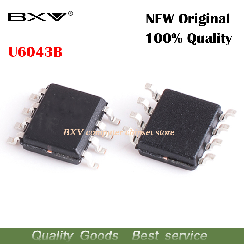 Free Shipping 10pcs/lot U6043B SOP-8 Original Authentic