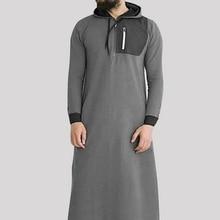 MJARTORIA 2019 Повседневная мусульманская арабская повседневная молния с карманом на молнии с длинны