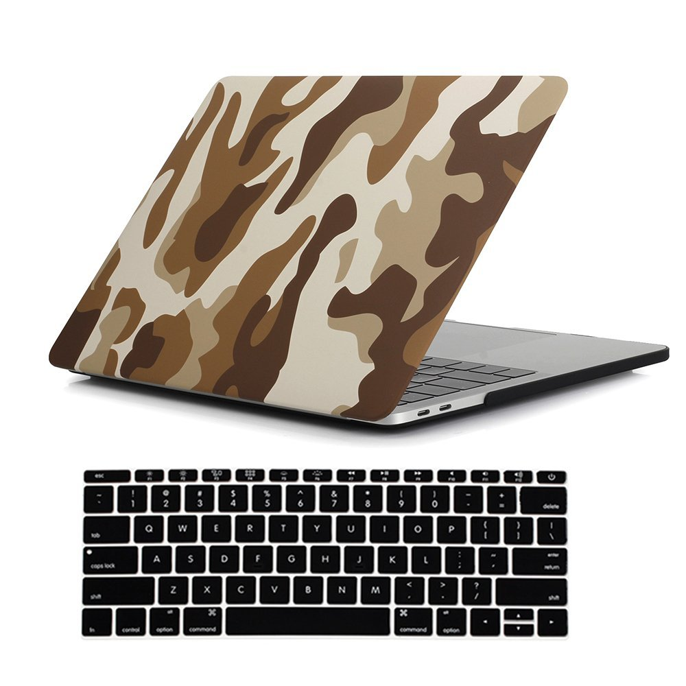 "Image 4 - Camouflage Pattern Matte Hard Case for Macbook Pro 13 15 with touch bar 2016 2017 2018 Laptop Case For New Mac book Pro 13.3""-in Laptop Bags & Cases from Computer & Office"