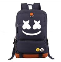 Unisex Schoolbag Marshmallow Cosplay Backpack DJ Marshmello Cartoon Students Bag for Girls Boys Teenagers 7 COLORS