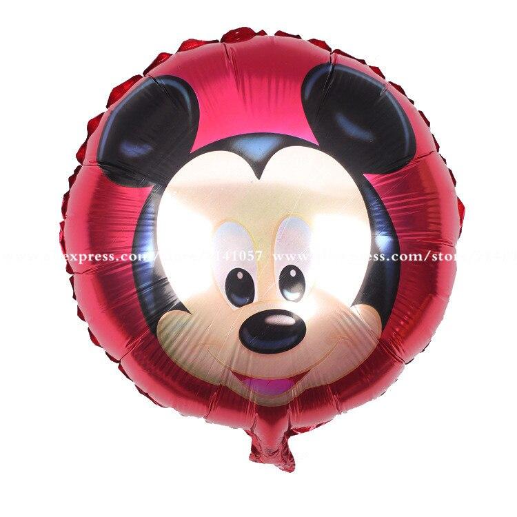 18 pouces Micky Souris Ballon 30 pcs/lot Minnie Mouse ballon Party ...