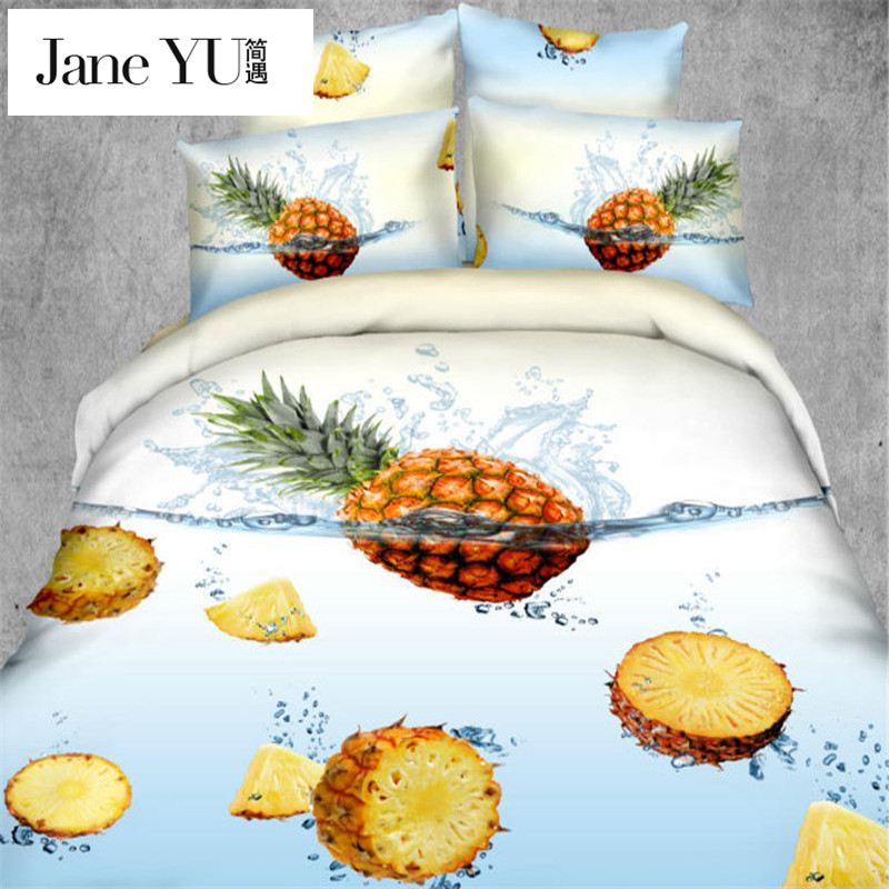 online get cheap pineapple bedding alibaba group. Black Bedroom Furniture Sets. Home Design Ideas