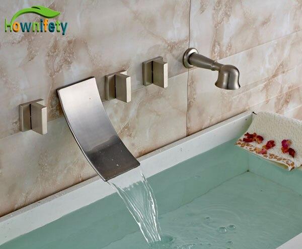 Online Kaufen Großhandel wasserfall badewanne armaturen aus China ... | {Badewannen armaturen wasserfall 62}