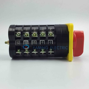 Image 5 - rotary selector switch 3 position switch main switch electric change over switch 5 phase LW5 16/5