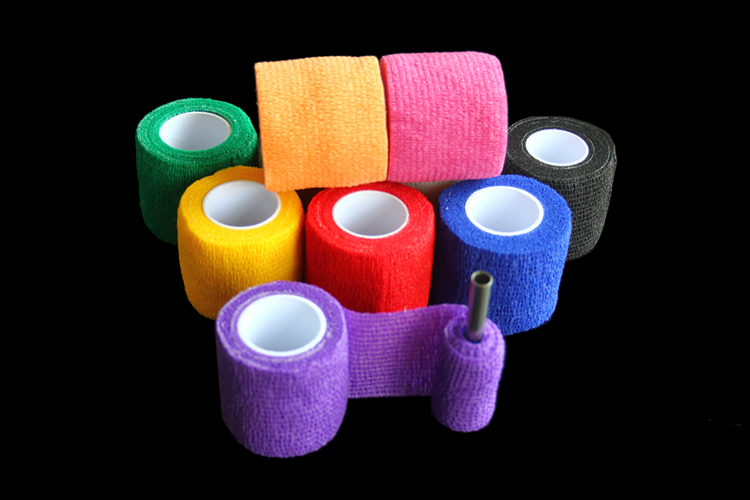 Tattoo Accessories 10pcs/lot Tattoo Self Adhesive Elastic 5cm Wide Elbow Tattoo Bandage Nail Tapes Cohesive Bandages