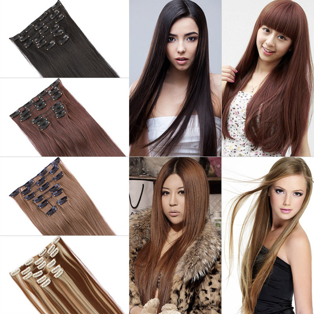 22inch straight 7 pieces a wind brand hair synthetic clip in hair 22inch straight 7 pieces a wind brand hair synthetic clip in hair extensions hair extension pmusecretfo Image collections