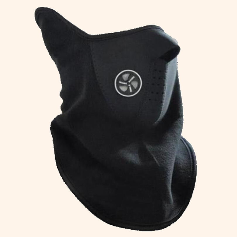 YSDNCHI 1PC High Quality Windproof Beanies Mask Woman Casual Mask Unisex Solid Color Mans Warm Half Face Skullies Face Mask M098 protective outdoor war game military skull half face shield mask black
