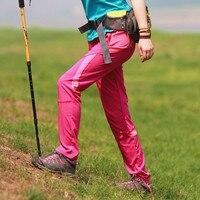 Outdoor Hiking Pants Women Summer Trekking Pants Women Softshell Waterproof Hiking Trousers Sport Camping Quick Dry Hiking Pants
