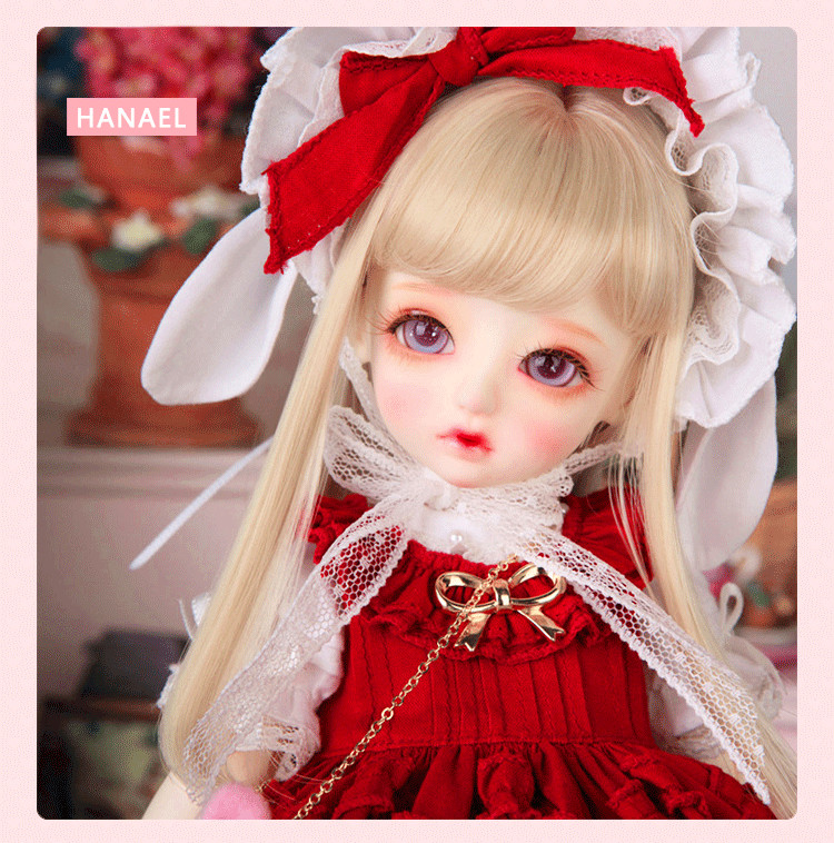 Full set bjd doll honey Hanael 1/6 Doll bb resin figures toy supiadoll ariel doll 1 3 bjd doll resin figures toy