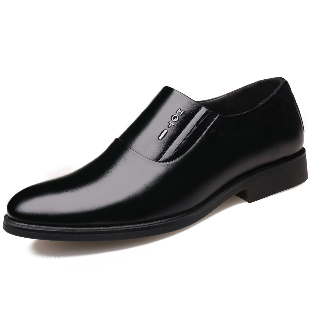 2019 Fashion Pointed Toe Dress Shoes Men Loafers Patent Leather Oxford Shoes For Men Formal Mariage Wedding Shoes Big Size 39 44