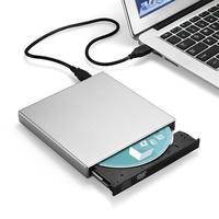 עבור מחשב נייד הכונן האופטי החיצוני DVD ROM USB 2.0 CD / DVD-ROM CD-RW השחקן הצורב Slim Reader Portable Portatil המקליט עבור מחשב נייד (1)