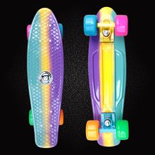 New Peny Fish Board 22″Printed mini cruiser plastic skateboard trucks long board children's scooter four-wheel skates PD01