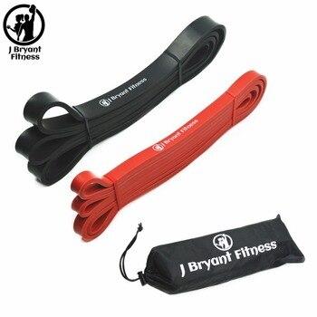 aa341f7aba Conjunto de 2 elástico asistencia sacar bandas de resistencia de  levantamiento de pesas deportes banda de Fitness para Crossfit atlético de  bucles