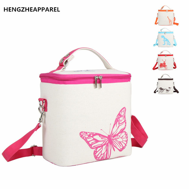 High Quality Lunch Bags Cooler Insulated Waterproof Lunch Package Women  Kids Thermal Bag Lunch Box Food Picnic Bags Tote Handbag 59e60ce15124