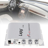 12V Mini Hi Fi Car Amplifier Booster Radio MP3 Stereo For Car Motorcycle Home