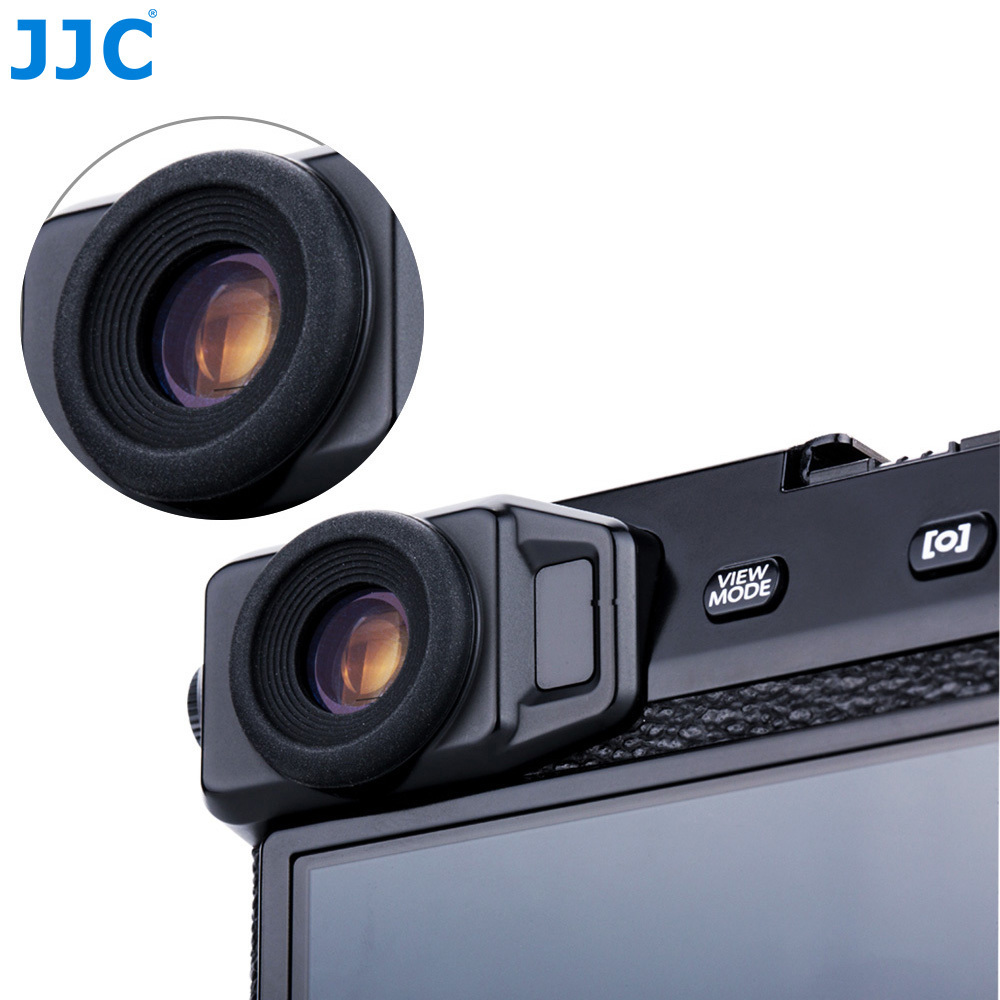 JJC Camera Eye Cup 2PCS Rubber Eyepiece Viewfinder Protector Soft Eyecup for Fujifilm X-Pro2 new arrival dk25 dk 25 eyecup eye cup eye piece viewfinder eyepiece for nikon camera dslr d3300 d3200 d5300 d5500 free shipping