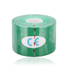 SZ-LGFM-1 Roll Muscles Care Fitness Athletic Health Tape 5M * 5CM – Green