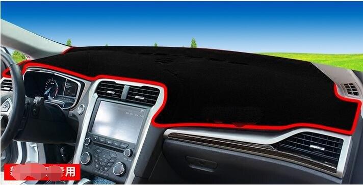 Voiture tableau de bord éviter pad lumière Instrument plate-forme bureau couverture tapis Auto accessoires pour Ford nouveau mondeo