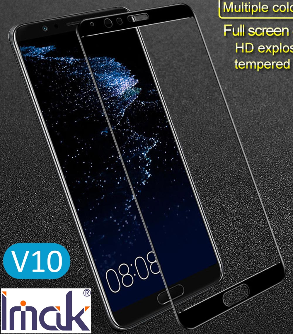 Imak Full Screen Cover Protective Tempered Glass For Huawei Honor V10 2.5D Curved oleophobic View 10