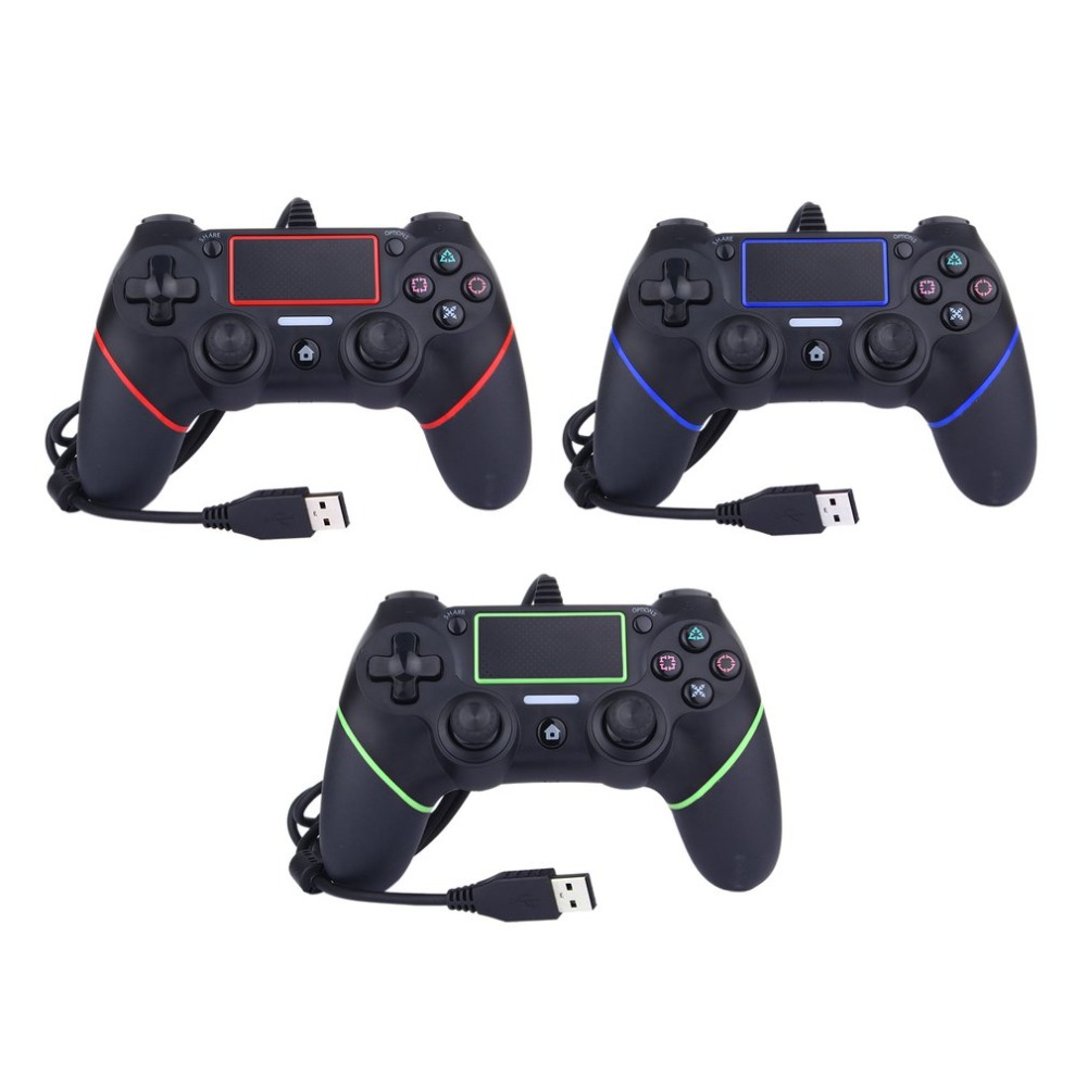 Aliexpress.com : Buy For PS4 Controller Wired Game pad USB ...