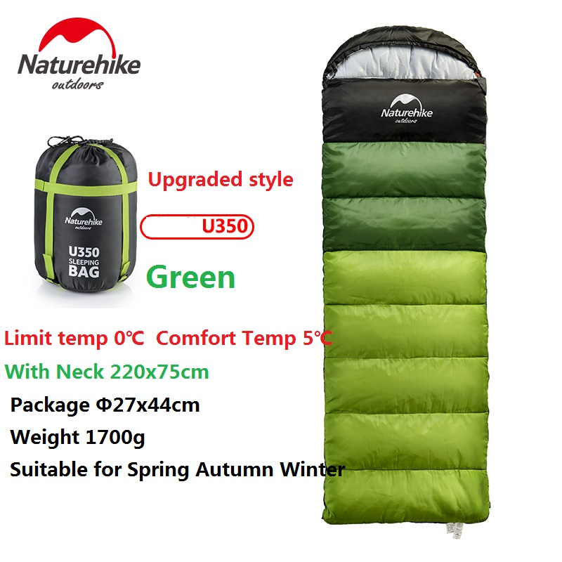 Naturehike Factory Outdoor travel sleeping bag spring Autumn winter warm portable camping adult indoor noon break sleeping bag - 2