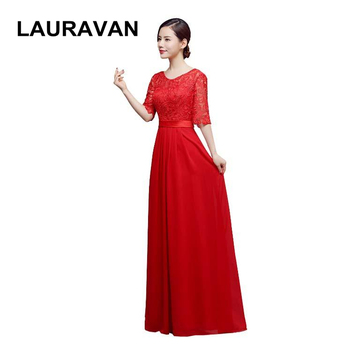 women new red hot pink plus size occasion hot sale elegant long bridesmaid dresses floor length sleeveless dress 2020 gown