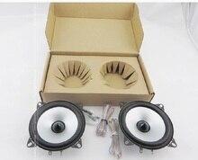 1 Pair 4 inch Car Speaker Automobile Automotive Car HIFI Full Range Bubble Gum Edge Speakers