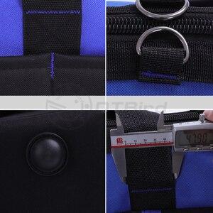 """Image 5 - 1 Pc wodoodporna torby narzędziowe duża pojemność torba na narzędzia wielofunkcyjny pogrubienie pracy kieszonkowy zestaw narzędzi do naprawy 14 """"17 """"19"""""""