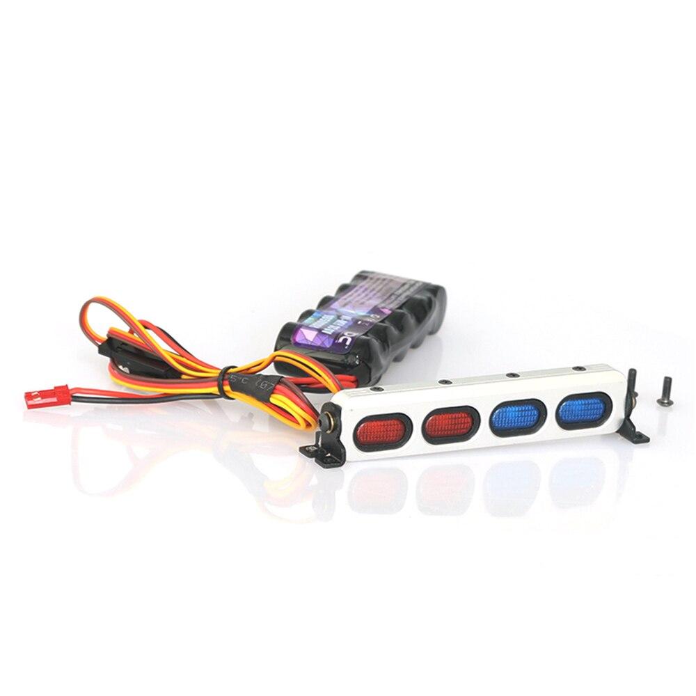 Радиоуправляемый автомобильный металлический задний фонарь на крышу для 1:10 RC Crawler TRAXXAS udr UNLIMITED DESERT RACER DCAB 8004 RC Car TRAXXAS Upgrade Part