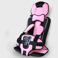 Good Quality Toddler Car Seat Safety Car Children Seat Auto Booster Seat Beige Orange Pink Blue