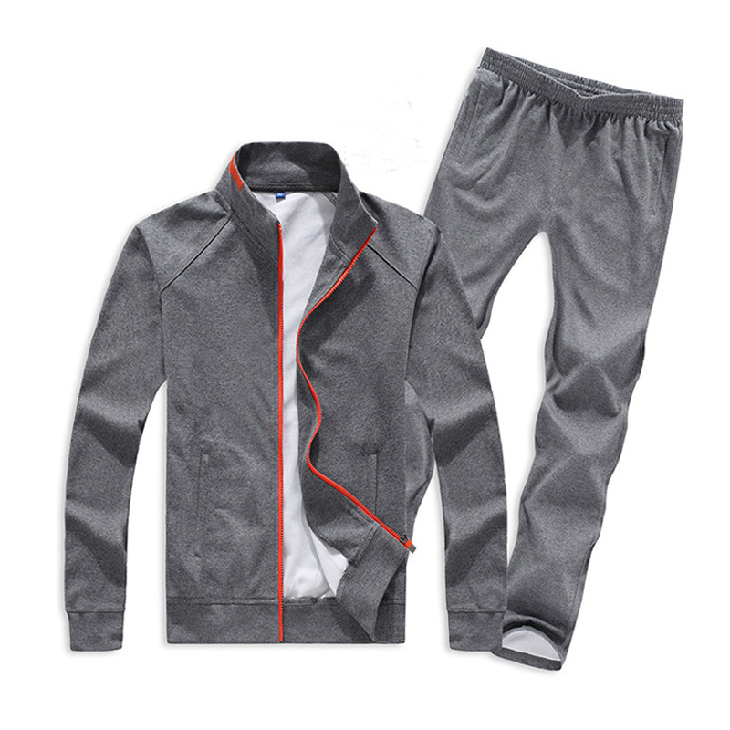 Plus Size Men Sets 5XL 6XL 7XL 8XL Sportswear Gym Clothing Spring Autumn Keep Warm Sport Jogging Running Suits kangfeng серый цвет 7xl