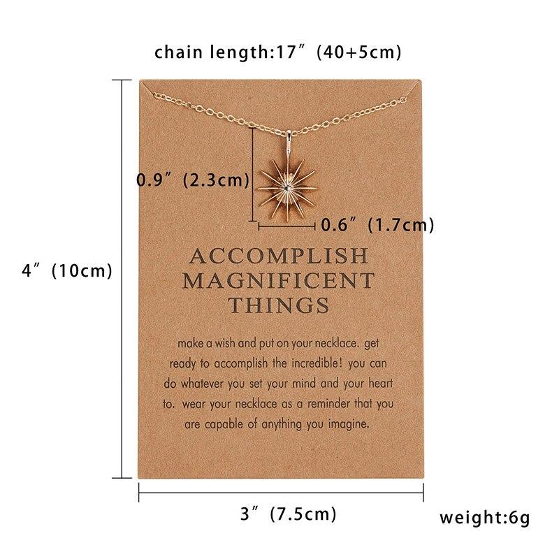 Модный миниатюрный изящный кулон из сердца с цветами, ожерелье, карта желаний, золотой шарм, ожерелье, ювелирные изделия для женщин, аксессуары, подарки для девушки - Окраска металла: 5