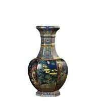 Antique Royal Chinese Porcelain Vase Decorative Flower Vase For Wedding Decoration Pot Porcelain Vase Christmas Gift R1876