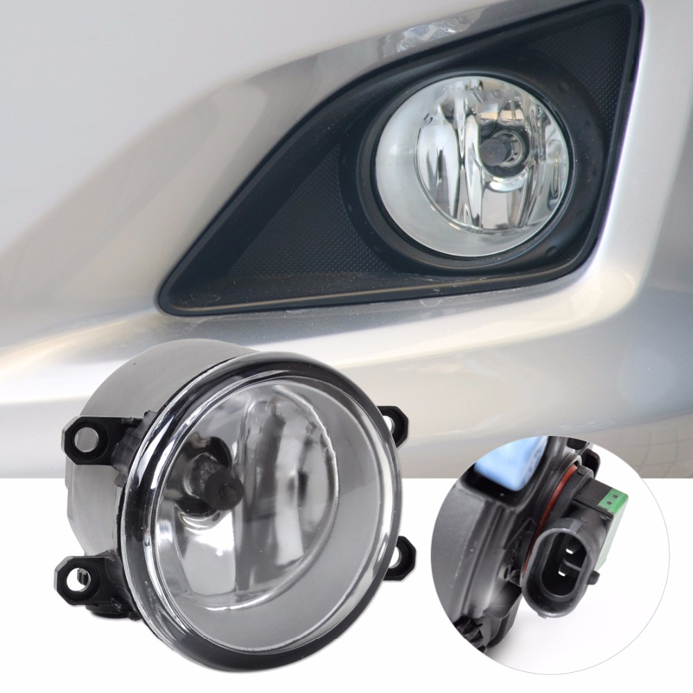 DWCX 81210-06050 Fog light Lamp Left Side for Toyota Camry Corolla Yaris RAV4 for Lexus GS350 GS450h LX570 LX570 RX350 RX450h dwcx 81210 06050 81210 0d040 2pcs front fog light lamp 2pcs grille cover bezel for toyota corolla 2007 2008 2009 2010