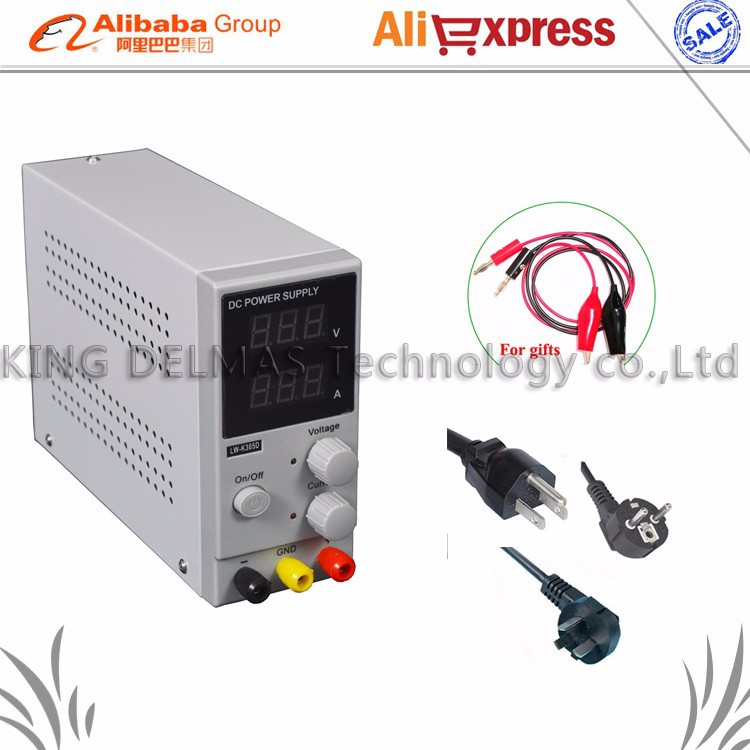 цены Original LW Mini Adjustable Digital DC power supply ,0~30V 0~10A ,110V-220V Switching Power supply 0.01V/0.01A FOr US/EU/AU Plug