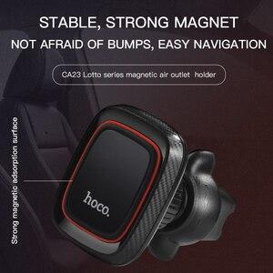 Image 2 - HOCO Support magnétique de téléphone portable de voiture Support magnétique prise dair Support 360 degrés GPS Support de Smartphone pour iPhone Samsung