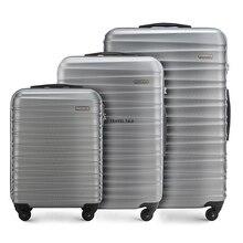 """Чэнжи 2"""" 24"""" Дюймов прозрачный на колесиках чемодан на колёсиках с колесами"""