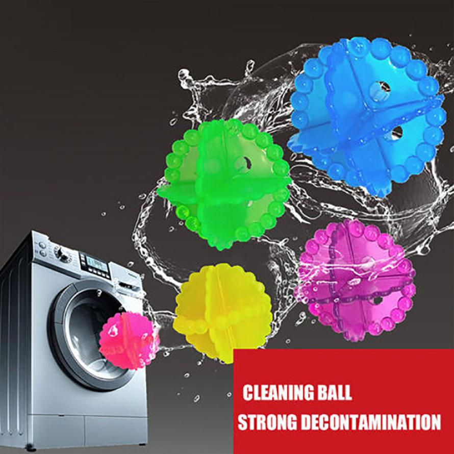 HOT ECO 10PCS Washing Machine Ball Washing Helper Cleaner Laundry Dryer Ball Fabric Softener Cloth Cleaning Ball